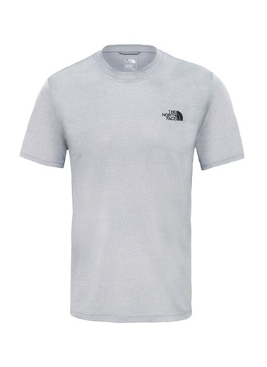 The North Face The North Face Reaxıon Amp Crew Erkek Outdoor T-Shırt Tnf Light Grey Heather Gri